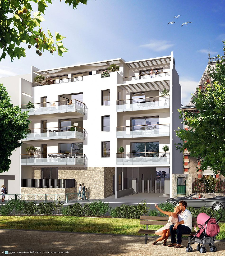 Terrasses marines appartement neuf vannes evimmo news for Appartement neuf design